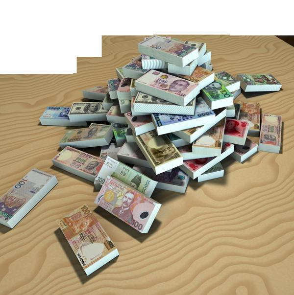 Paris France Money Currency